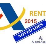 Novedades Renta 2015: Rendimientos del Trabajo