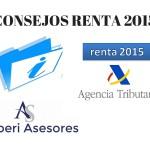 Consejos Declaración Renta 2015