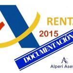 Documentos necesarios para hacer la Declaración de la Renta 2015