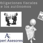 Obligaciones fiscales del trabajador autónomo