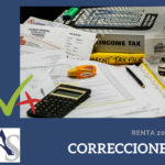 Correcciones Declaración de la Renta 2017