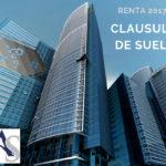 Cómo declarar la clausula de suelo – Renta 2017