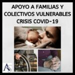 Medidas de apoyo para familias y colectivos vulnerables