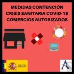 Medidas de contención COVID-19