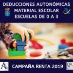 Deducciones Autonómicas Asturias 3: Educación