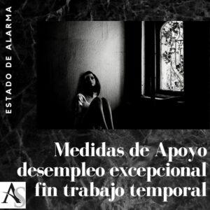Medidas apoyo estado de alarma desempleo excepcional Alperi asesores gestoria administrativa e1585871873831