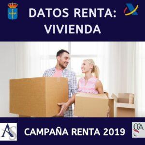 datos declaración de la Renta Vivienda Alperi Asesores Gestoria Administrativa