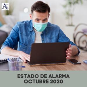 Estado de Alarma Octubre Alperi Asesores Gestoria Administrativa