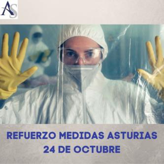 Refuerzo medidas Covid 19 Asturias Coronavirus Alperi Asesores Gestoria Administrativa