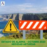 Restricciones Estado de Alarma Asturias