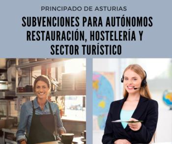Subvencion ayuda autonomos restauracion hosteleria sector turistico
