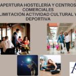 Apertura de la Hostelería y Centros Comerciales