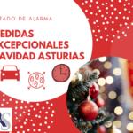 Medidas Excepcionales Navidad Asturias