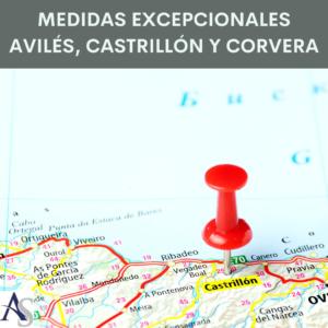 Medidas Excepcionales Aviles Castrillon y Corvera alperi asesores gestoria administrativa