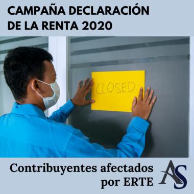 Declaracion de la renta 2020 Afectados por ERTE Alperi Asesores Gestoria Administrativa 1