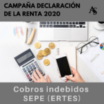 RENTA 2020: Cobros Indebidos del SEPE