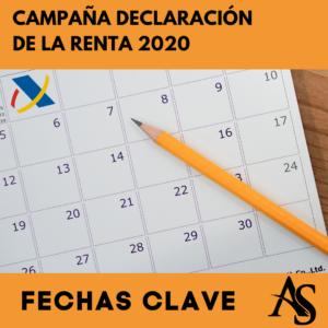 Declaracion de la renta 2020 Fechas Clave Alperi Asesores Gestoria Administrativa
