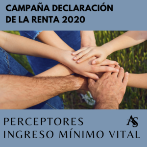 Declaracion de la renta 2020 Perceptores Ingreso Minimo Vital Alperi Asesores Gestoria Administrativa